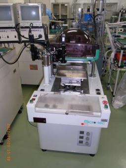 樹脂封止用印刷機(低印圧スクリーン印刷機)