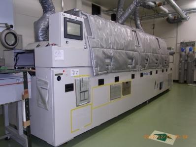 7槽N2リフロー炉