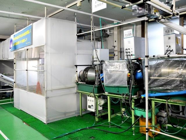 排熱利用による省エネ乾燥システム